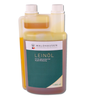Lein-Öl - Für ein glänzendes Fell und gute Verdauung, 1 l