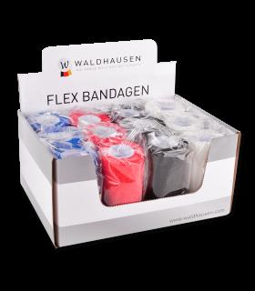 Flex Bandagen-Set 12 Stck. inkl. Verkaufsdisplay