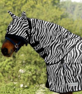 Fliegenhalsdecke Zebra