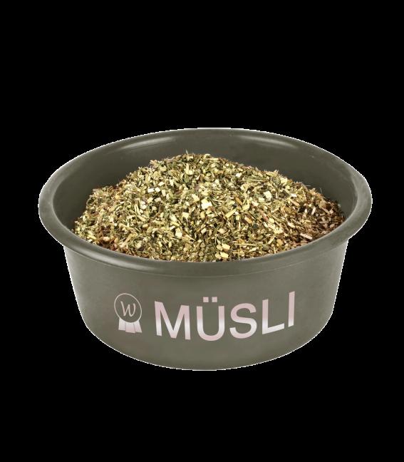 """Muesli"" bowl with lid"