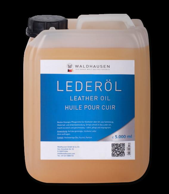 Leather Oil, light in colour, liquid 5 l