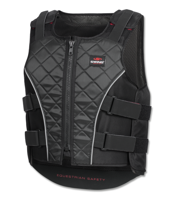 P19 Body Protector with zip, adults