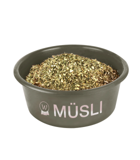"""Muesli"" bowl with lid"