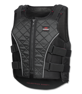 P19 body protector with zip, children