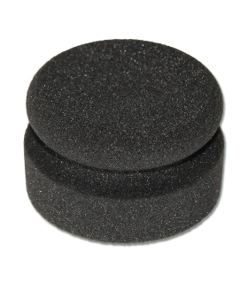 Puck sponge, black