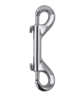 Double carabiner hooks