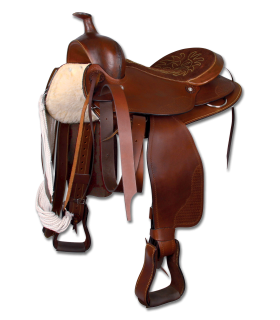 "Western Saddle for large horses, 16""/40 cm"
