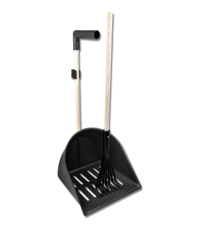 XL Shaker Manure Scoop with rake