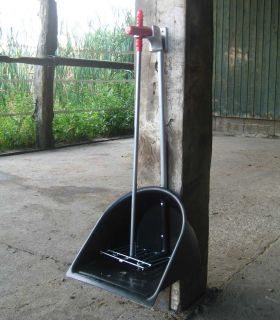 Holder for Manure Scoop, metal