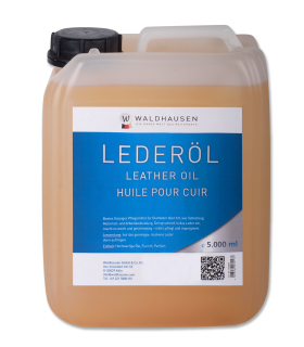 Leather Oil, light in colour, liquid 5 l