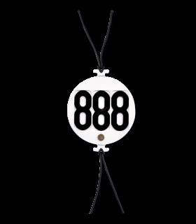 Head Numbers, circular, 3 digits