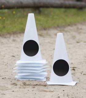 Arena marker cones, dressage markers