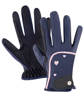 Metropolitan Heart Kids Riding Gloves