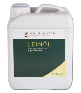 Linseed Oil - for a Shining Coat and good Digestion, 2.5 l