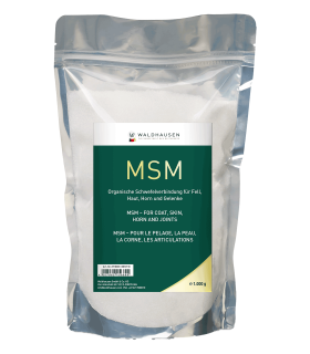MSM - for coat, joints, skin and horn, 1 kg