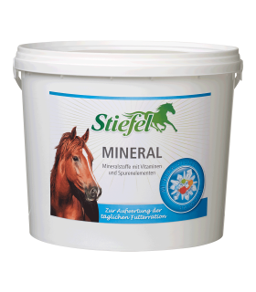 Stiefel Mineral- minerals with vitamins and trace elements for enhancing daily feed ration