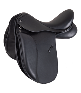 Comfort Dressage Saddle, leather, pony