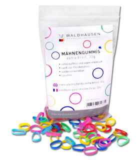 Plaiting bands, extra wide, multicolour