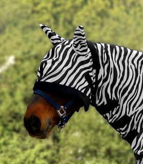 Fly Mask Zebra