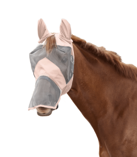 PREMIUM fly mask with ear and nose protection
