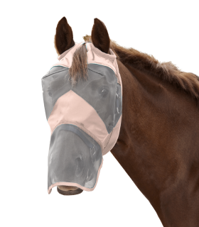 PREMIUM Fly Mask without ear and with nose protection