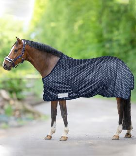 Silver Hearts Fly Rug