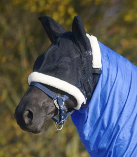 Fly mask for eczema rug