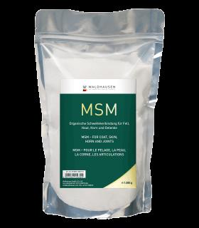 MSM - Pour le pelage, les articulations, la peau et la corne, 1kg