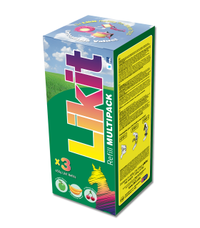LIKIT confezione risparmio, 3 X 650 g