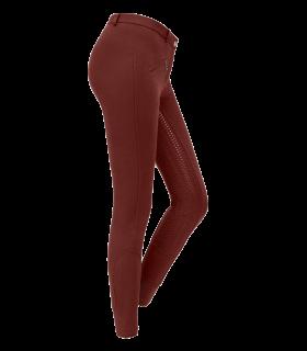 Pantaloni da equitazione Fun Sport in silicone, donna