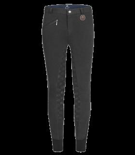 Pantaloni termici da equitazione Fun Sport in silicone, bambino