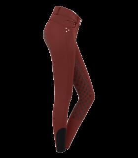 Pantaloni termici da equitazione Claire, a vita alta