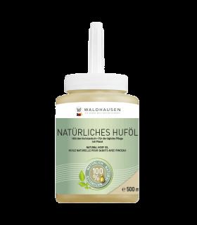 Olio per zoccoli naturale con pennello, 500 ml