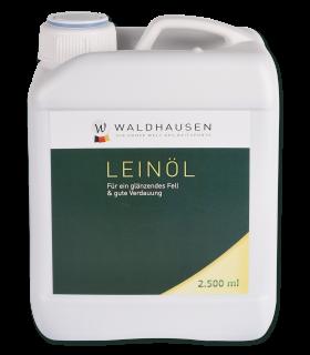 Olio di lino - Mantello splendente e buona digestione - 2,5 l