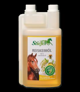 Olio di crusca di riso Stiefel – Per migliorare le prestazioni e lo sviluppo della struttura muscolare