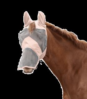 Maschera antimosche PREMIUM con protezione per le orecchie e per il naso
