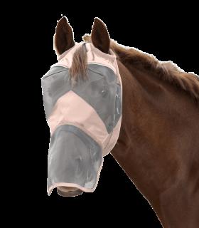 Maschera antimosche PREMIUM senza protezione per le orecchie, con protezione per il naso
