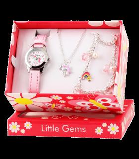 Set gioielli da bambina, motivo unicorno