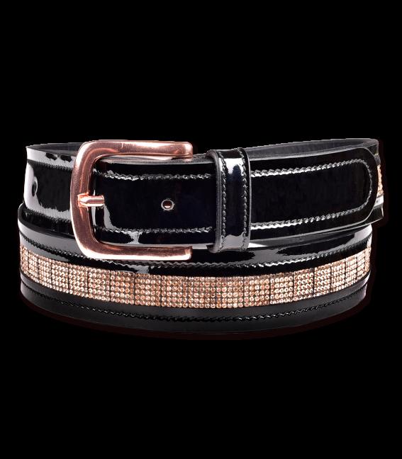 Cinturón de cuero Roségold