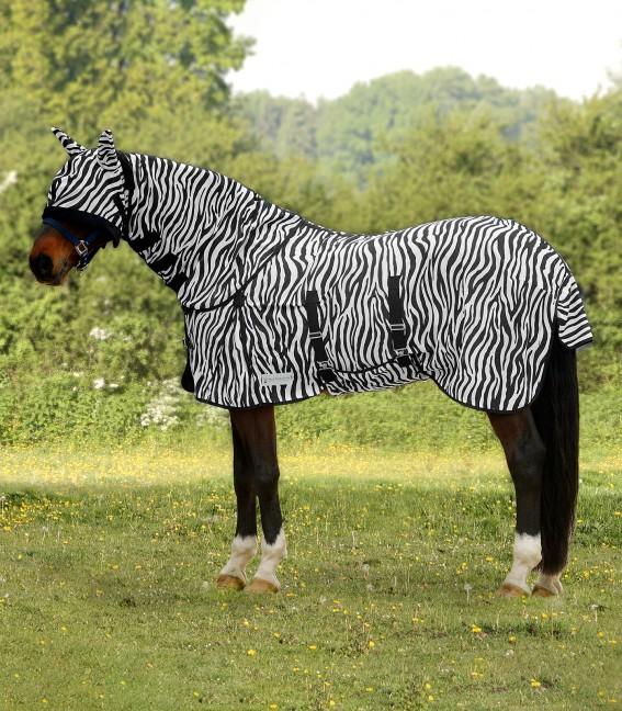 Manta mosquero Zebra