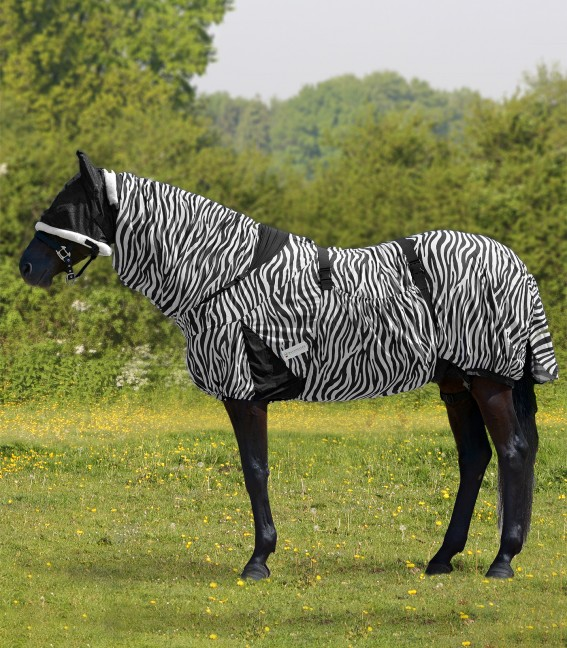 Manta antieczematosa Zebra