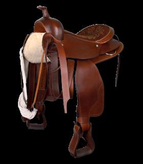 "Silla Western para caballos grandes, 16""/40 cm"