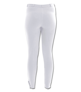 Pantalones de equitación Blanco con inserción de tela, para mujer