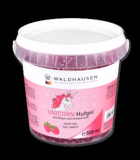 Gel para cascos con purpurina y aroma, contenido 500 ml