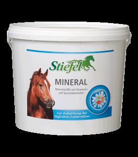 Stiefel Mineral - Minerales con vitaminas y oligoelementos para enriquecer la ración de pienso diaria