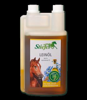 Aceite de linaza Stiefel - para pelaje y digestión