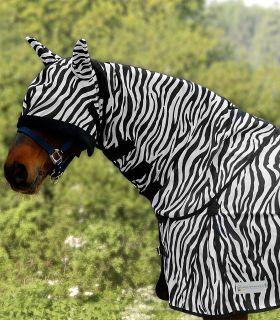 Cuello antimoscas Zebra