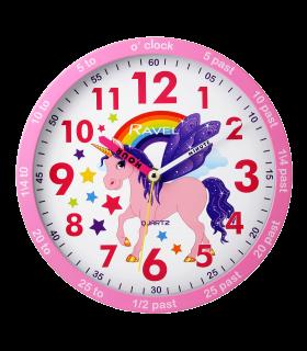 Reloj de pared Unicornio