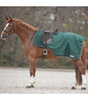 COMFORT Manta para lluvia con abertura para la silla de montar